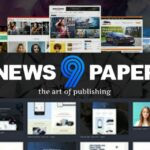 newspaper 9 premium blogger template free download